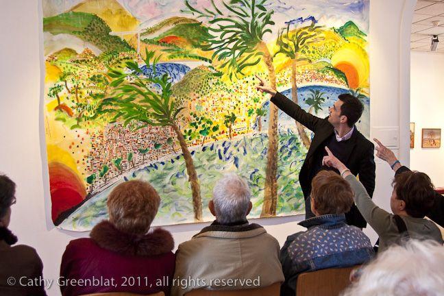 Visite lieux culturels Niçois - Institut Claude Pompidou